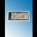 Fassung/Sockel für Linienlampen wie Linestra S14d Gold-Messing-glänzend - Ansicht von unten
