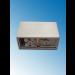Fassung/Sockel für Linienlampen wie Linestra S14d Edelstahl gebürstet - Ansicht von unten