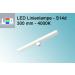 LED Linienlampen (LINESTRA-Ersatz) LED 300mm - 30cm - S14d -  4000K - 1 Sockel