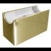 Aufbau-Fassung/Sockel S14d Gold/Messing glänzend • für Linienlampe (auch LED)  • 230V/AC • Material Messing/Kunststoff