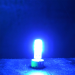 LED G4 Mini (Deko-Light) • 12V/DC dimmbar • ⌀ 9,2mm/L36mm • 1,5W (blau) • 440nm • 90lm • 330° • Silicagel_View2
