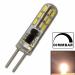 LED G4 Mini für Lichtpunktsysteme G4 12V dimmbar AC/DC ⌀ 7,5mm/L38mm 1,50W (1,50W = 10W) 2900K 130lm