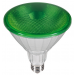 Outdoor LED Strahler GRÜN PAR38 230V/AC E27 IP65 40° (18W =120W) • 660lm  L130,0mm • D123,0mm