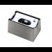 Fassung/Sockel für Linienlampen wie Linestra S14d - Chrom matt - view2
