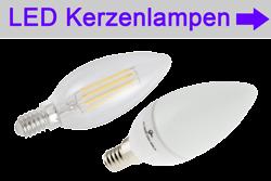 LED Lampen E14 - LED bulb E14 - Glühfadenlampe Kerzenlampe Filament LED