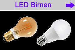 LED Lampen E27 - LED bulb - Glühfadenlampen Birnen Filament