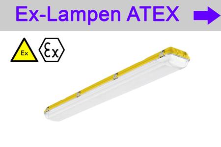 Startseite Ex-Leuchten mit ATEX Zulassung