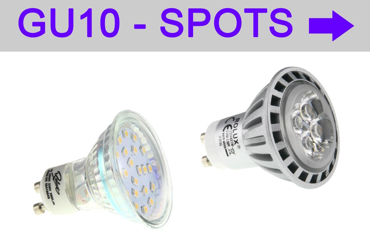 LED GU10 Spots - LED GU10 Strahler