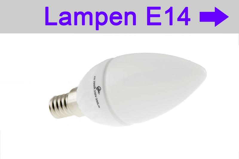 LED Lampen E14 - LED bulb E14