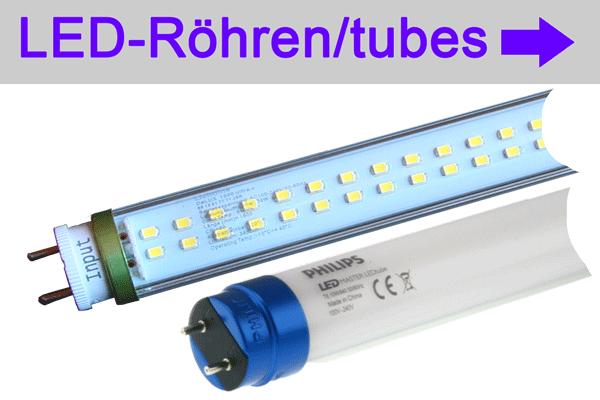 LED-Röhren - LED Tubes